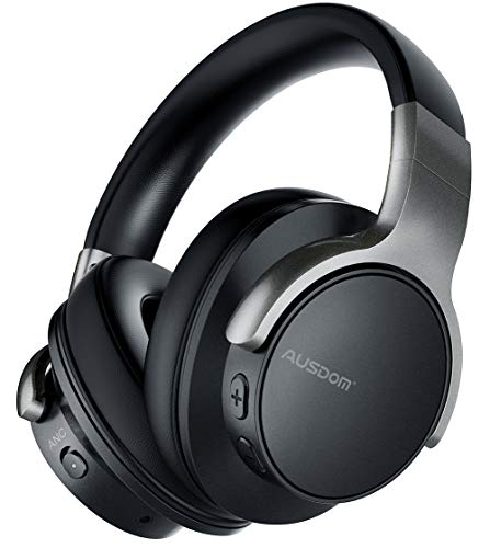 AUSDOM ANC8 Casque Bluetooth Réduction Bruit Active...