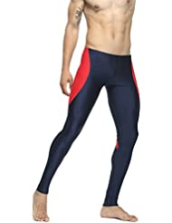 TAUWELL Hommes Sport Compression Collants Leggings