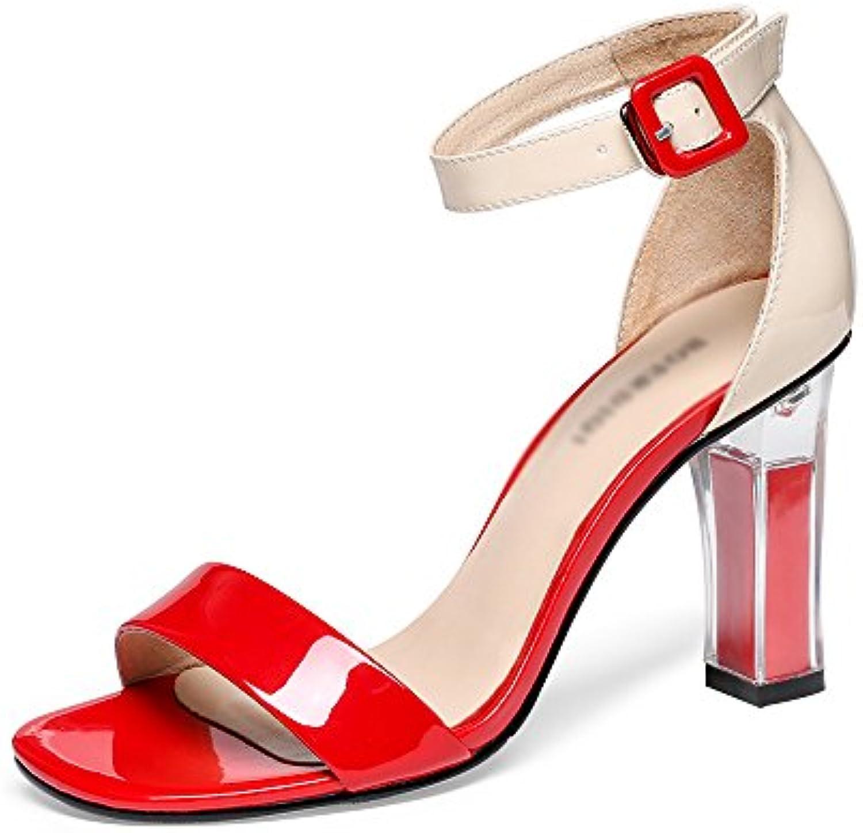 Sandali GYHDDP Tacco Alto da Donna Punta Aperta Aperta Aperta Cinturino alla Caviglia Tacco Alto da Donna (Dimensioni   39) | Vari I Tipi E Gli Stili  | Uomo/Donna Scarpa  781382