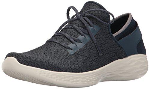 Skechers Damen You-Inspire Sneakers, Blau (Nvy), 41 EU - Skechers-damen-mode