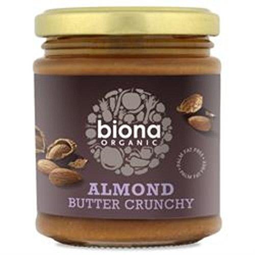 Almond Butter - Crunchy Organic 170 g