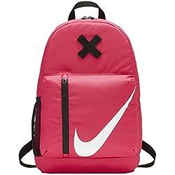Nike Y Nk Elmntl Bkpk, Mochila Unisex Infantil, Rosa (Rush Pink/Black / Whit), 15x24x45 cm