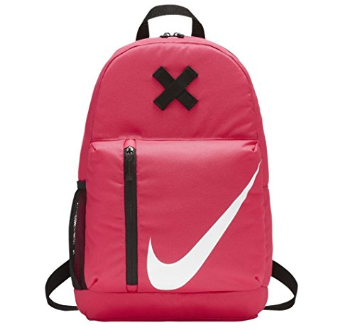 Nike Y Nk Elmntl Mochila, Sin género, Negro/Rosa (Rush Pink), Talla Única