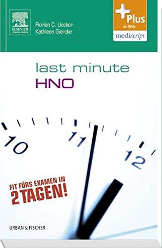 Last Minute HNO