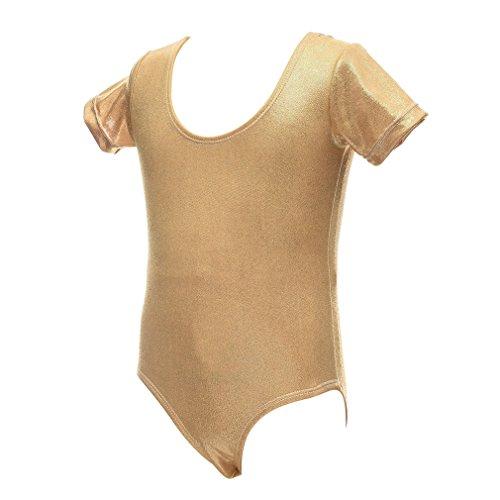 Qlan Girls Ballet Dance Body Body Ginnico Abbigliamento per la Danza Abbigliamento Sportivo