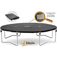 Kangui Bâche de protection pour trampoline Famili 430 en PVC noir