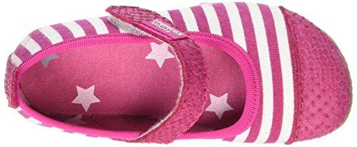 Living Kitzbühel Stripes, Chaussons fille Rose - Pink (365)