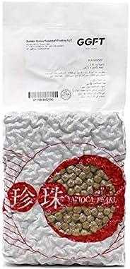 High Tea Boba Tapioca Pearls for Beverage & Desserts, Professional Grade, Size 2.5MM -