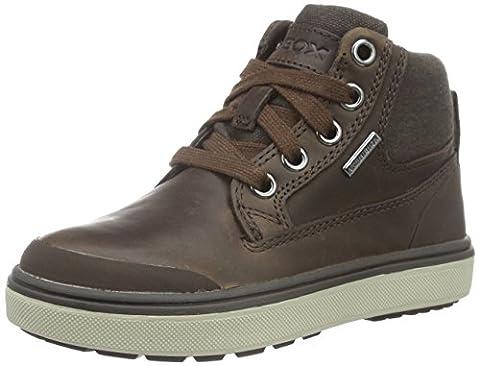 Geox Jungen J Mattias B Boy Abx C Chukka Boots, Braun (BROWNC0013), 31 EU
