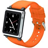 Q Collection - Bracelet pour iPod nano 6g (Orange)
