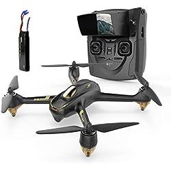 Hubsan H501S X4 Brushless FPV Drone GPS avec Caméra 1080P HD 5.8Ghz (H501S Noir)