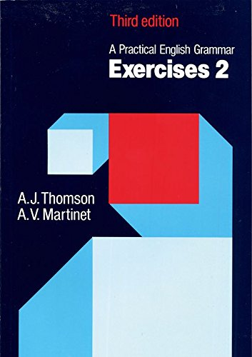 A Practical English Grammar, Exercises 2