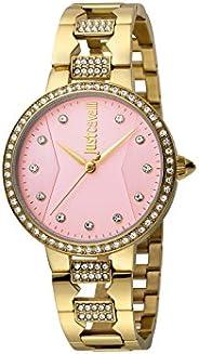ساعة يد من جست كافالي للنساء ستانلس ستيل -موديل JC1L031M0085