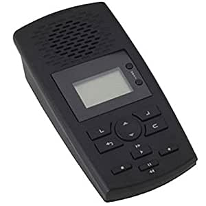 BlackOpsTM SD Digital Phone Recorder w/ Phone Call Data Software: Digital desktop recorder records phone calls and stores voice and call data to a SD card.