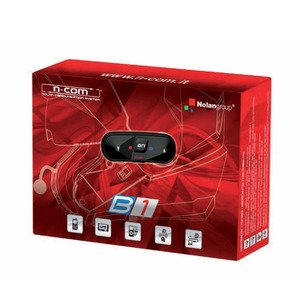 Nolan N- Com Bluetooth kit B1, color de Single V4, tamaño one...