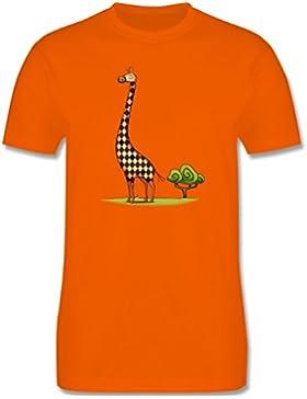 Tiermotive Kind - Lange Giraffe - Kinder T-Shirt