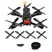 RC Racing Quadcopter, High Speed Carbon Fiber 1205-7000KV Motor 4in1 BLS 12A ESC RC Model Vehicle Drone
