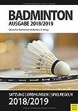 Badminton - Satzung, Ordnung, Spielregeln 2018/2019