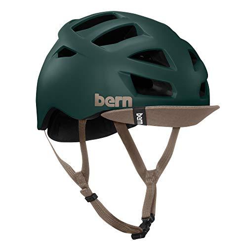 Bern Allston Matte Hunter Green w/ Flip Visor Casque Vélo Adulte Homme  - Vert  - vert - L 59-62 cm