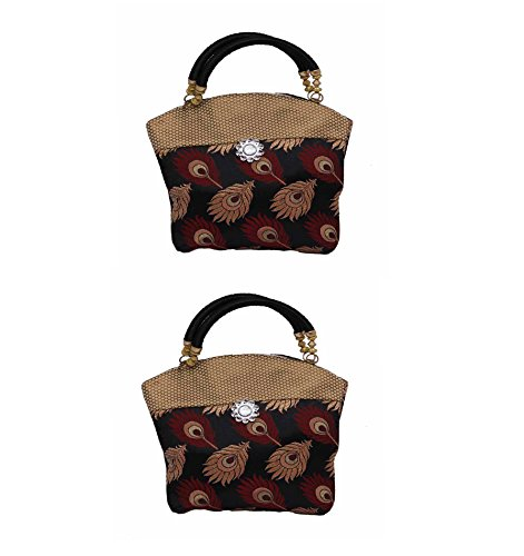 Kuber Industries™ Women Mini Handbag 10*10 Inches in Stylish Design With Fancy...