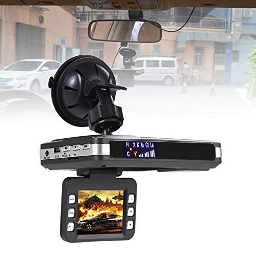 FeiyanfyQ 720P Auto Sicherheit DVR Video Recorder Kamera Traffic Alert Radar Speed Detektor - Schwarz Alert-dvr