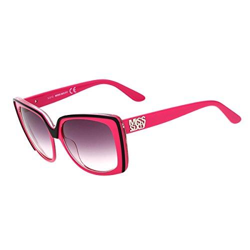 Miss Sixty Unisex Sonnenbrille SUNGLASSES MX544S 05Z LADIES, Farbe: Pink, Größe: One Appraise