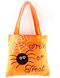 Rocita Big-Tempo di Halloween Candy Bag Regalo con la Maniglia 0cecd817d0db