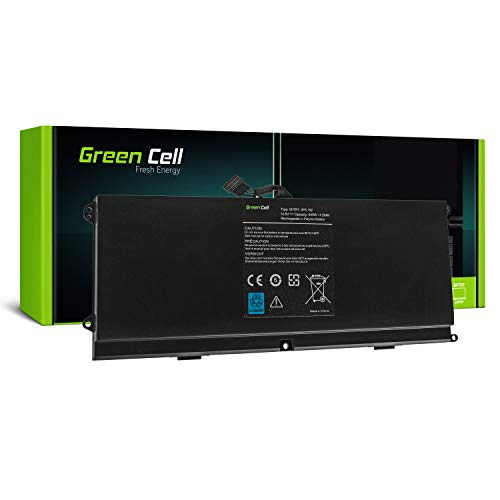 HTR7 Laptop Akku für Dell XPS 15z L511z P12F (Li-Polymer Zellen 4300mAh 14.8V Schwarz) ()