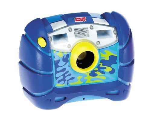 Mattel - Fisher Price M8071 - Wasserdichte Digitalkamera, blau