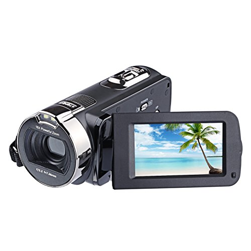 PowerLead 2.7inch LCD-Schirm-Digital-Videokamerarecorder-24MP Digitalkamera