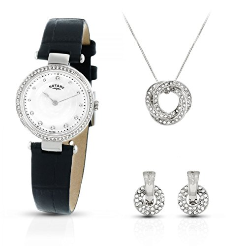 Montre femme Rotary Exclusive Necklace Gift Set LS00511/41/SET