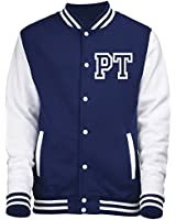 VARSITY JACKET WITH FRONT INITIAL PERSONALISATION (Oxford Navy / White) By 123t