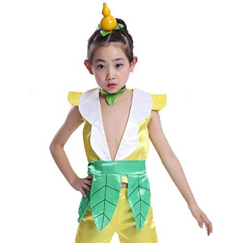 Byjia Kinder-Bühnen-Performance-Kleidung Umwelt Teen Jungen Mädchen Tragen Kinder Chor Gruppe Team Tanz Kostüme 3# 130Cm