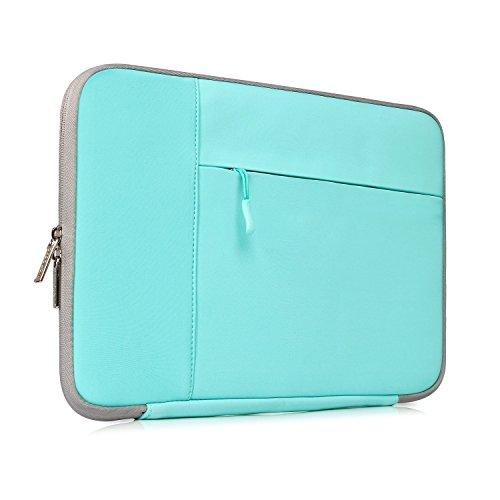 Ivencase® stoßfest Neopren Laptop Sleeve Tasche Hülle Beutel Für 11-11.6 Zoll Laptop / Notebook / MacBook / MacBook Air 11 / Chromebook - Teal-Gray
