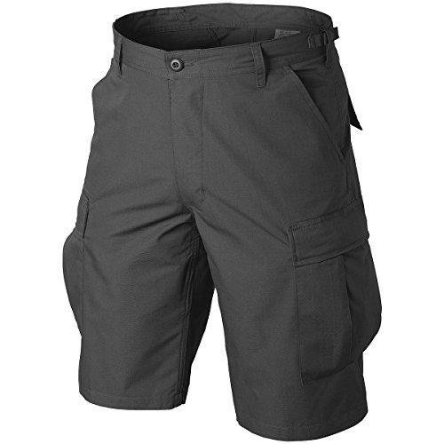 Helikon Original BDU Shorts Polycotton Ripstop Schwarz Größe L -
