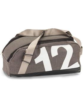 Tasche Persenning, Container grau|Zahl weiß
