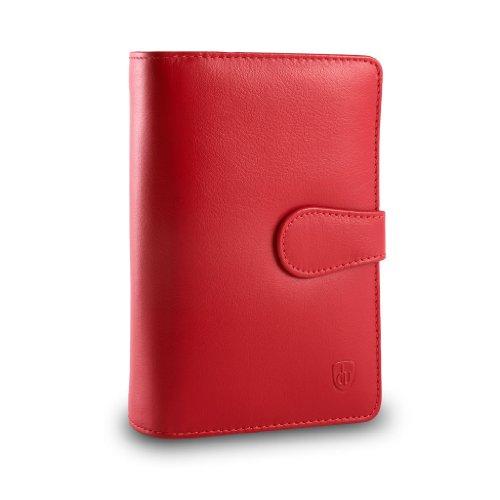 portafoglio-donna-grande-in-pelle-multi-tasche-2-portamonete-dv-rosso