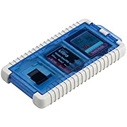 Gepe 3856e Cardsafe Basic Duo pour Carte Compact Flash, multimédia, Smart Media, SD, et Memory Stick (Onyx)