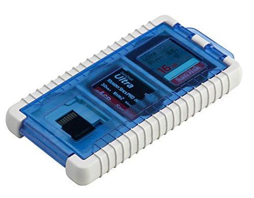 Gepe Card Safe Mini - Tasche für Speicherkarten - Eisblau, 3853-02