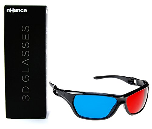 DOMO nHance CM610P Anaglyph Passive Cyan and Magenta 3D Glasses  available at amazon for Rs.199