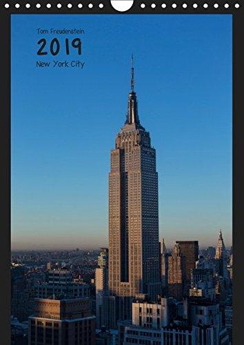 Vertical New York (Wandkalender 2019 DIN A4 hoch): Ansichten New Yorker Wolkenkratzer (Monatskalender, 14 Seiten ) (CALVENDO Orte)