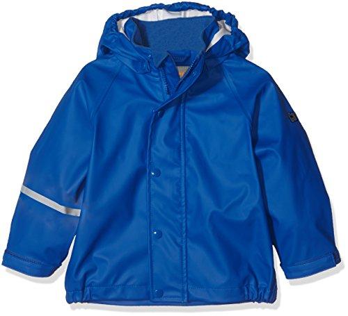 CareTec Kinder wasserdichte Regenjacke, Blau (Ocean blue 706), 24 Monate/92 cm