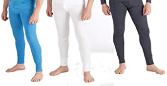 Men's Thermal Underwear - Long pants - White / Anthracite
