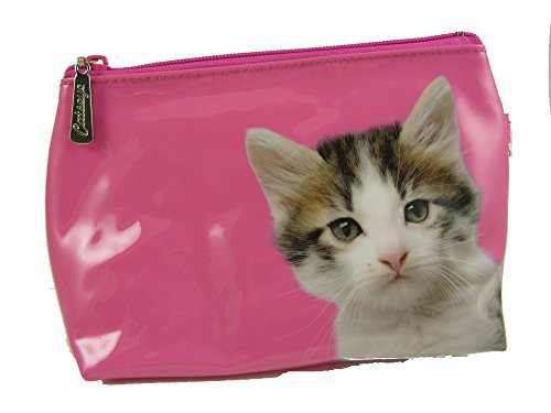 Chat Lavage de maquillage trousse de toilette sac par Catseye