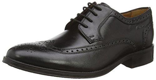 Clarks Men's Kolby Limit Leather Formal Shoes