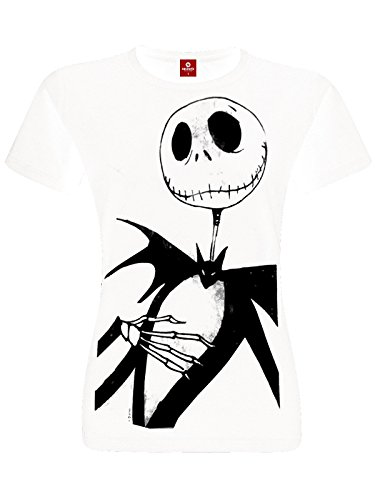 Nightmare before Christmas The Jack Me T-Shirt weiß XL (Christmas Shirt Nightmare Before)