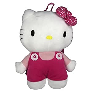 HELLO KITTY - SAC A DOS PELUCHE - CARTABLE ENFANT MATERNELLE LOISIRS
