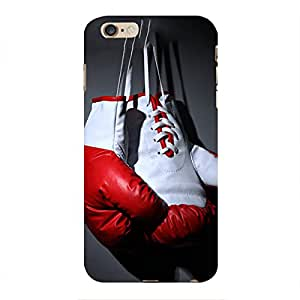 Blue Throat a pair of boxing gloves Back Case Cover for Apple iPhone 6s Plus :: Apple iPhone 6s+