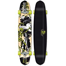 Flying Wheels Longboard Cruiser Dancing Dead 48 x 10 inch complete skateboard Carver - Special Edition with Koston ball bearings