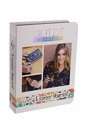 Knorrtoys GL7822 Glitza Fashion - Deluxe Set Express Yourself, Temporäre Tattoos für junge Erwachsene